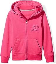 Starter Girls' Zip-Up Embroidered Logo Hoodie, Amazon Exclusive