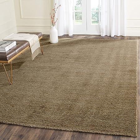 Safavieh Himalaya Collection Him311b Handmade Premium Wool Area Rug 6 X 9 Brown Furniture Decor
