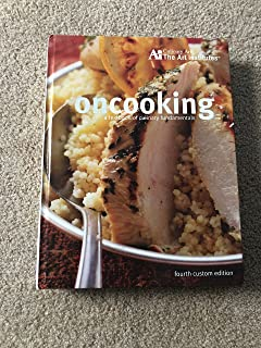 oncooking a textbook of culinary fundamentals