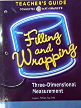 Filling and Wrapping - Three-Dimensional Measurement, Connected Mathematics 3, Teacher's Guide