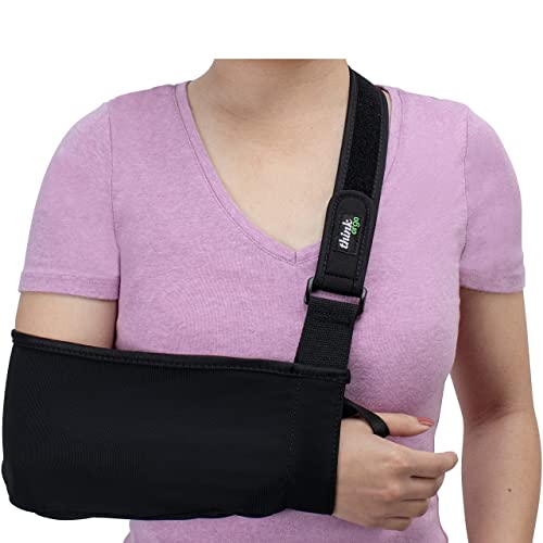 fa9bdad119e2 Think Ergo Arm Sling Sport - Lightweight, Breathable, Ergonomically  Designed Medical Sling for Broken