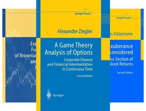 Springer Finance (18 Book Series)