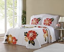 Ellison Autumn Chenille Bedspread, Full