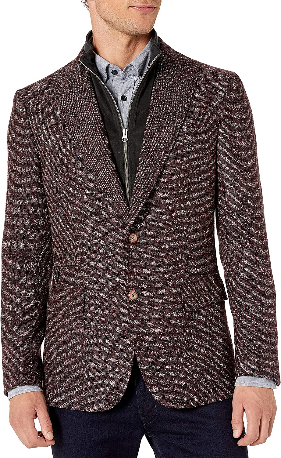 Ranking TOP10 Robert Graham Men's Downhill Donegal Sportcoat Time sale Woven