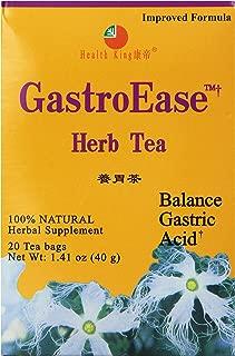Health King GastroEase Herb Tea, Teabags, 20 Count Box