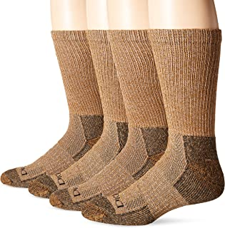 Dickies Mens Steel Toe Moisture Control Crew Socks (2 ...