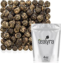 Tealyra - Lychee Black Dragon Pearls - Exotic Sweet Black Loose Leaf Tea - Medium Caffeine - All Natural - 110g (4-ounce)