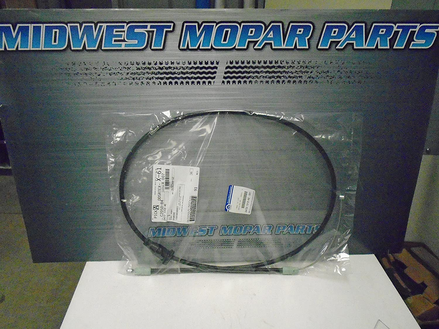 Genuine Chrysler 4721310AE Mail order cheap Parking 25% OFF Brake Cable