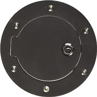 CHROME BOLT ON GAS//FUEL TANK DOOR COVER+KEY//LOCK FOR 99-06 CHEVY SILVERADO//LD//HD