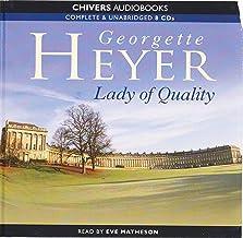 Lady of Quality: by Georgette Heyer (Unabridged Audiobook 8CDs)
