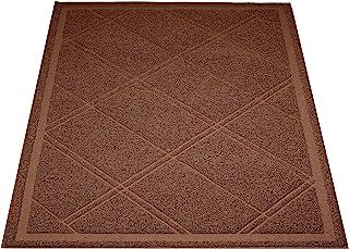 AmazonBasics Cat Litter Box Mat - 24 x 35 Inches, Brown