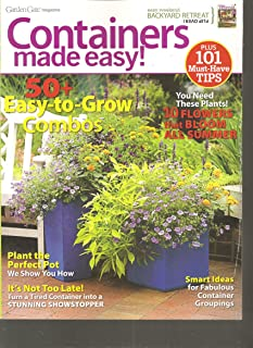 Garden Gate Magazine (Easy Weekend Backyard Retreat/Containers Made Easy!, May 8 2012)