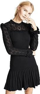 فستان نيكولا حريمي محبوك بأكمام طويلة من Shoshanna