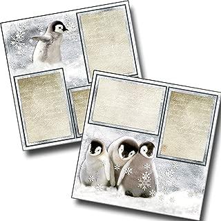 Snow Penguins - Premade Scrapbook Pages - EZ Layout 3630