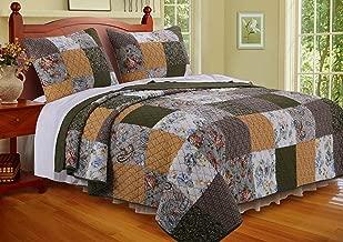 Greenland Home Cedar Creek Quilt Set, 2-Piece Twin