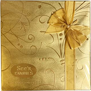 See's Candies 1 Lb Fancy Gold Gift Box of Assorted Chocolates
