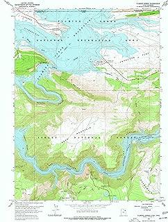 flaming gorge topo map