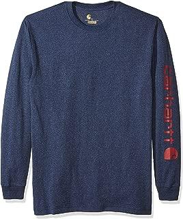 Men's Big & Tall Signature Sleeve Logo Long Sleeve T-Shirt