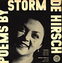 Poems by Storm De Hirsch