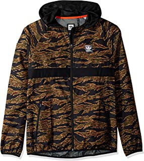 Men's Skateboarding Camo All Over Print Packable Wind Jacket