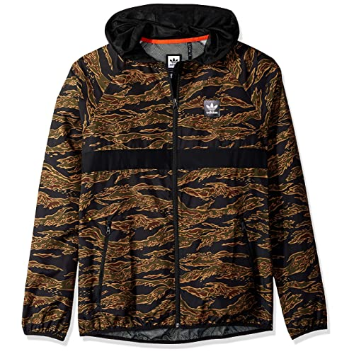 3b9226158f7fe adidas Originals Men's Skateboarding Camo All Over Print Packable Wind  Jacket