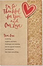 American Greetings Romantic Thank You Card (True Love)