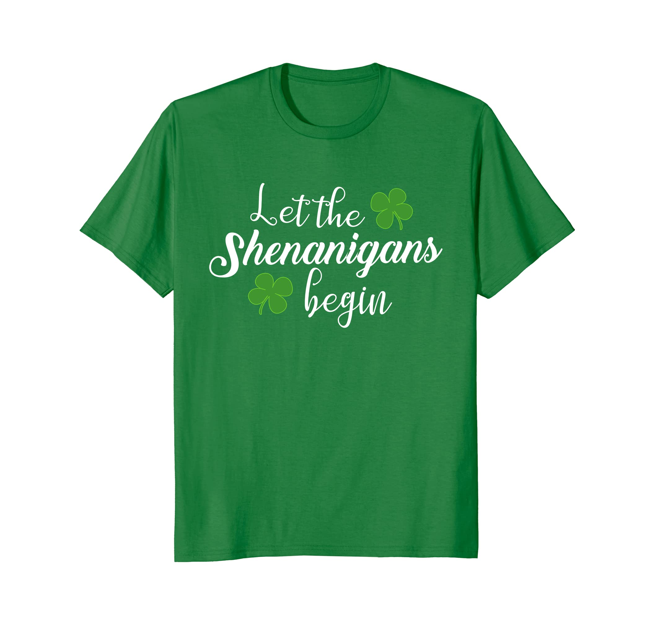 61e93435d299a1 Amazon.com  Let The Shenanigans Begin - St Patrick s Day Shirt  Clothing