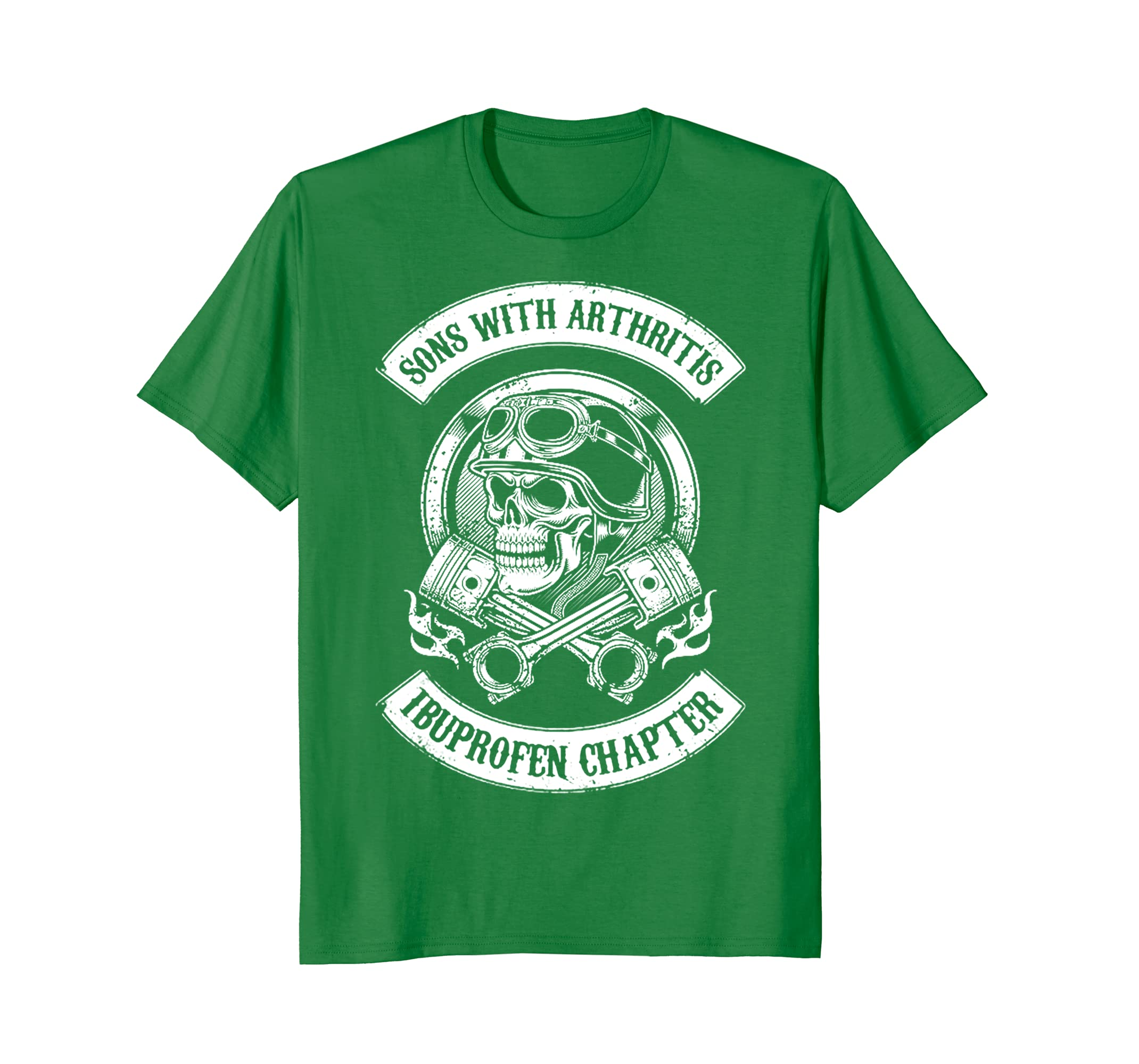 1d0d5f4a Sons With Arthritis - Ibuprofen Chapter Funny Bikers T-Shirt-alottee gift