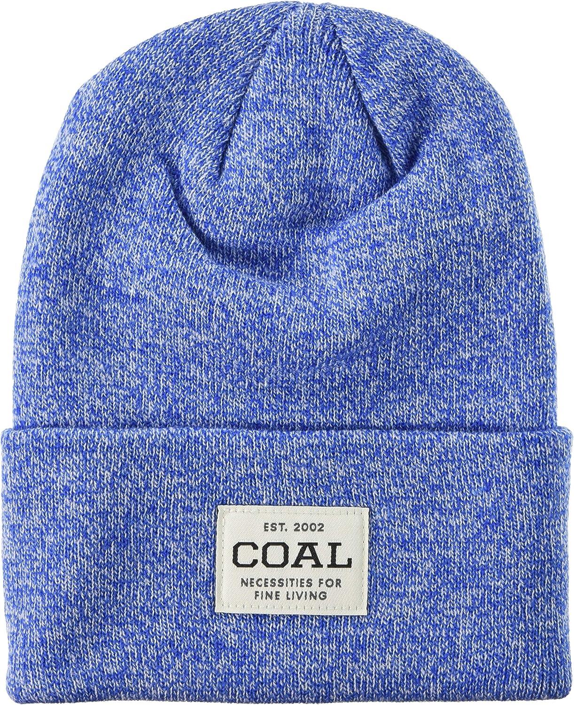 Coal New York Mall Men's The Uniform Fine Knit Cuffed Hat Max 75% OFF Workwear Beanie