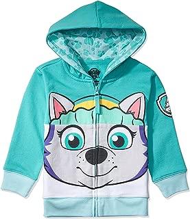 Nickelodeon Paw Patrol Character Big Face Zip-up Hoodies - Skye, Ryder, Everest - Toddlers