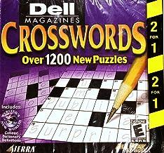 Dell Crosswords / Hoyle Solitaire (Jewel Case) - PC