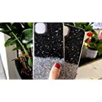 KC Starry Dry Non Moving Sparkling Bling Shining Diamond Ring Stand Glitter Stars Soft Silicone Back Cover for Mi Redmi…