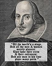 Best all the world's a stage shakespeare quote Reviews
