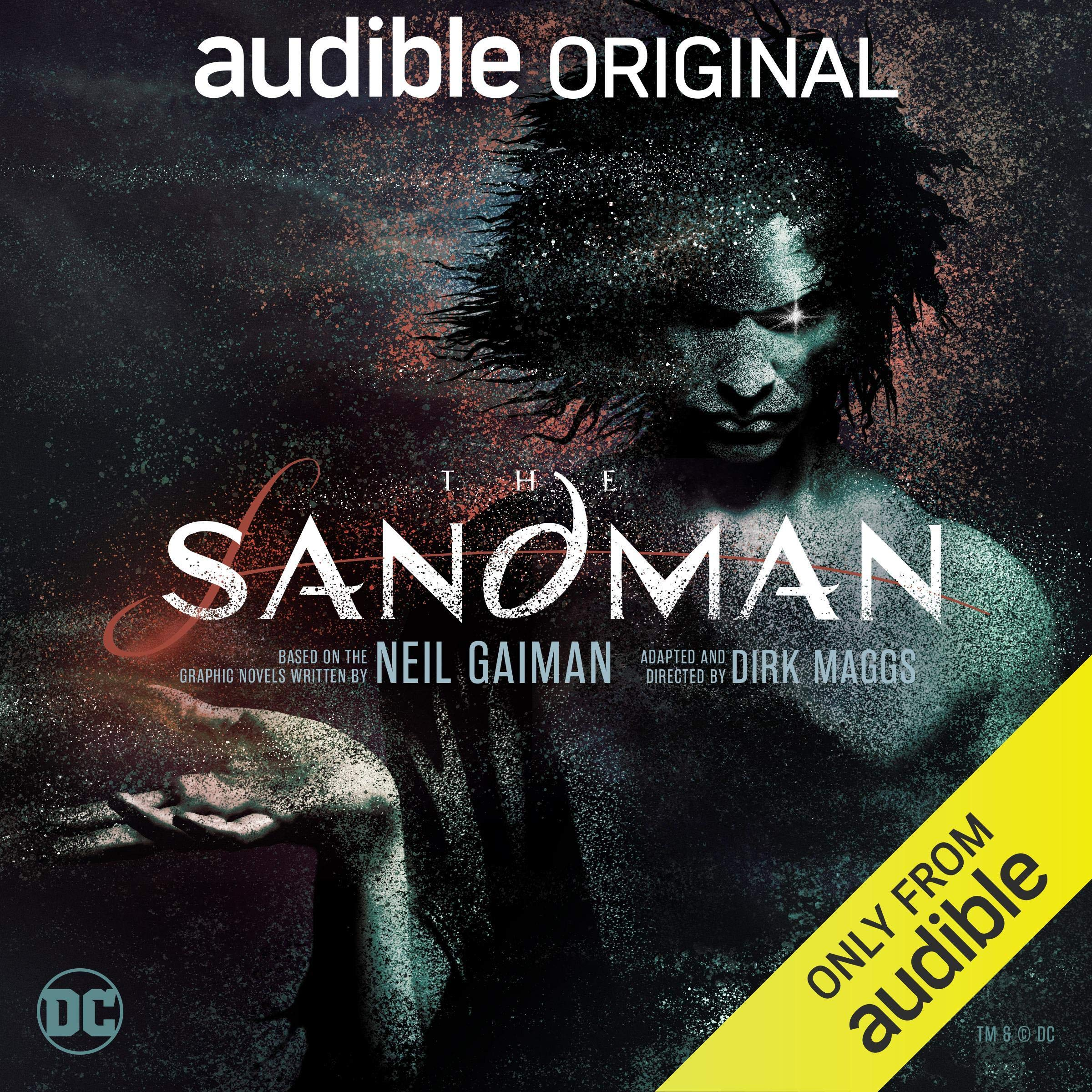 Cover image of The Sandman by Neil Gaiman & Dirk Maggs