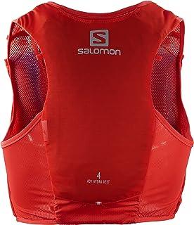 SALOMON ADV Hydra Vest Chaleco de hidratación, 2 Botellas SoftFlask 500 ml Incluidas, Unisex Adulto