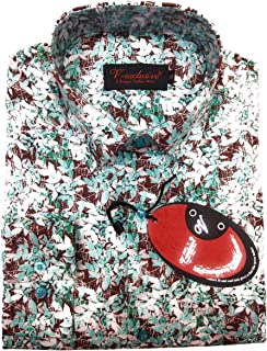 V-EXCLUSIVE Formal Printed Shirts (Small Size)
