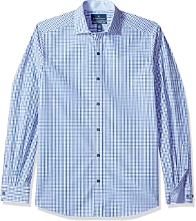 Amazon Brand - BUTTONED DOWN Men's Tailored Fit Supima...