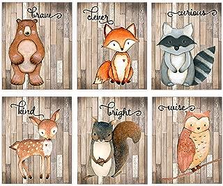 Best woodland nursery prints Reviews