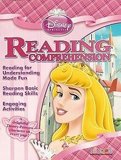 Disney Princess Reading Comprehension Workbook