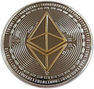Ethereum Coin Double-Plated Custom Design by Crypto Wallet Central