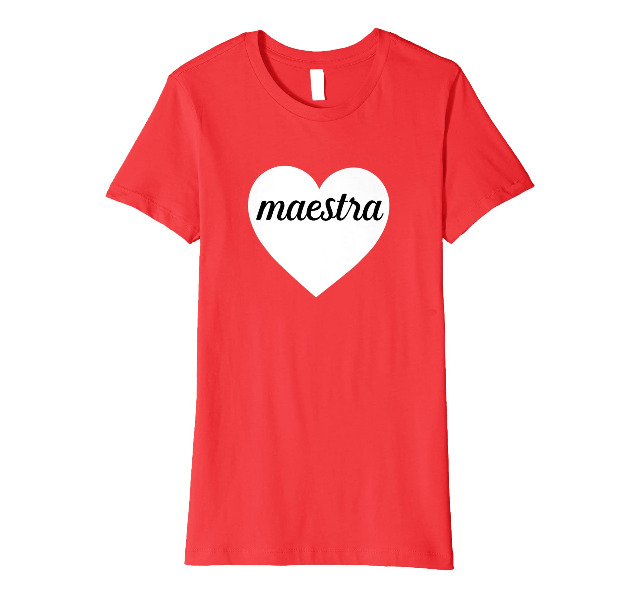 ac0d1042 Amazon.com: Maestra T-Shirt Spanish Bilingual Teacher Tee: Clothing