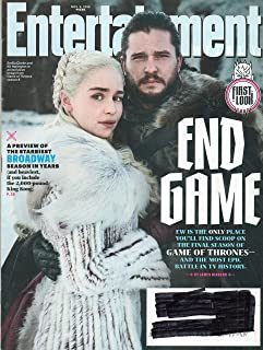 Entertainment Weekly Magazine (November 9, 2018) End Game The Final Season of Game of Thrones