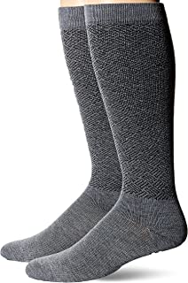 Dr. Scholl's Men's American Lifestyle Pin Dot Compression Socks 2 Pair