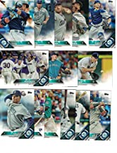 Seattle Mariners / Complete 2016 Topps Series 1 & 2 Baseball Team Set. FREE 2015 Topps Mariners Team Set WITH PURCHASE!