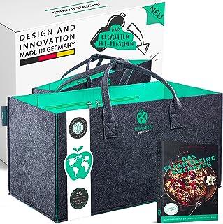freegreen® Premium Einkaufstasche aus recycelten PET-Flaschen I 100% nachhaltig & umweltbewusst I Nachhaltige Produkte I U...