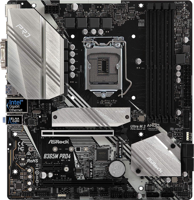 ASROCK B365M PRO4 MATX S1151 HDMI/DVI/VGA M.2 Retail