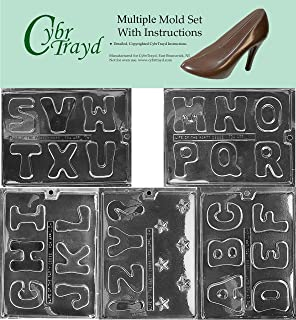 chocolate mold letters