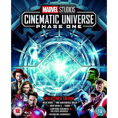 Marvel Movies Blu Ray Collection: Amazon com
