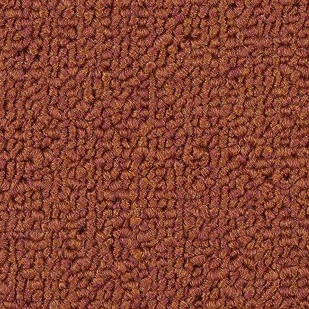 braun beige Teppichboden Auslegware B/üro Schlinge gemustert verschiedene Gr/ö/ßen Gr/ö/ße: 1 Muster 400 und 500 cm Breite Meterware