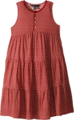 Floral Cotton Jersey Dress (Little Kids/Big Kids)